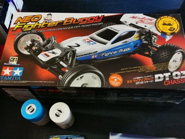 Tamiya Neo Fighter Brushed 1:10 RC model samochodu buggy elektryczny z