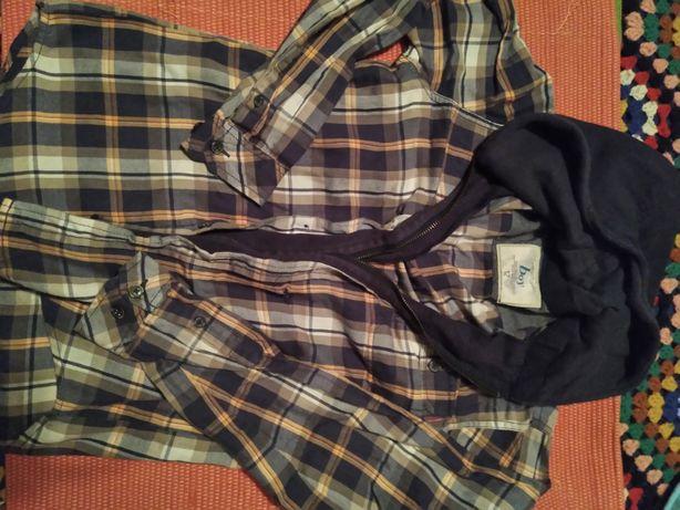 Camisa com fecho e carapuço da THROTTLEMAN