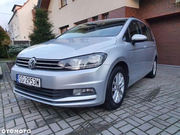 Volkswagen Touran Śliczny 2.0 TDI 150 KM DSG Bezwypadkowy...