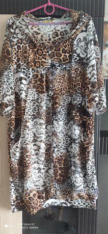 Туніка, леопардовий принт