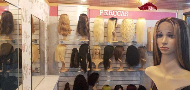 Peruca De cabelo Humano e Natural