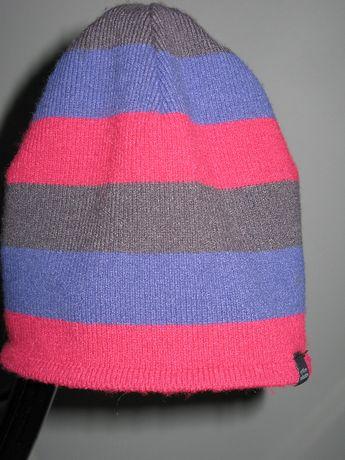 czapka dziewczęca na 2-3 latkę