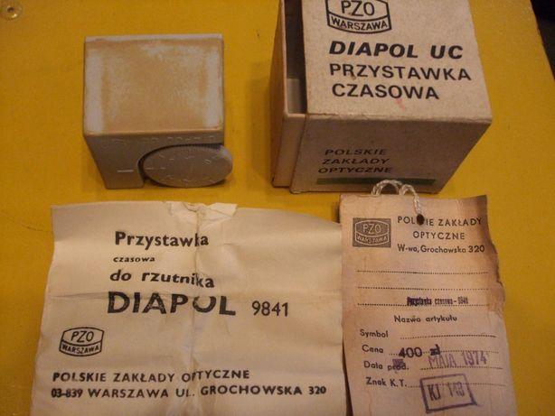 Przystawka czasowa do rzutnika Diapol 9841 z papierami