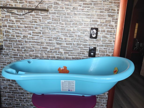 Ванночка Keeper + ведро Skip hop,расчёску Caprol,антискользяшки ковик