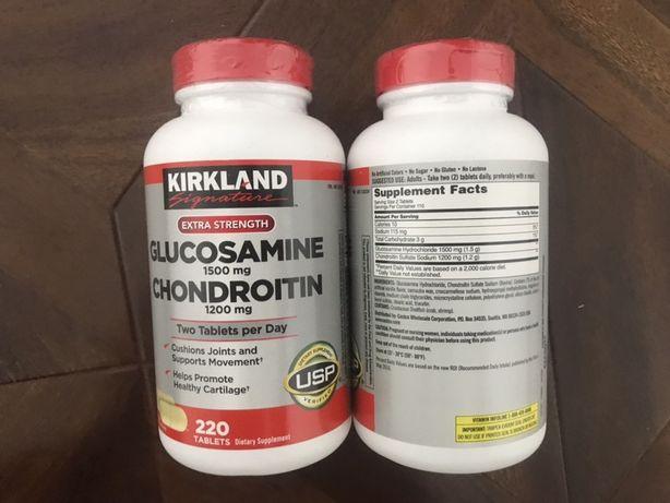 Хондроитин глюкозамин Витамини Омега -3 fish oil риб'ячий жир США