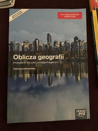 "Podrecznik ""Oblicza geografii"""