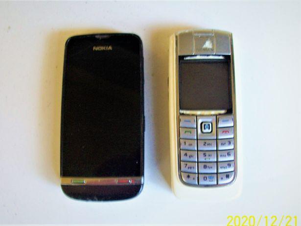 zestaw telefonów komórkowych używanych