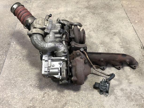 Турбина BMW X5 E70 E71 4.0d N57 турбіна БМВ Х5 Е70 N57D30B Разборка