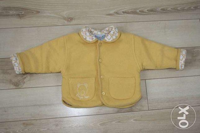 Kurtka, bluza dla dziewczynki rozm. 6 miesięcy
