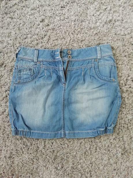 Jeansowa mini spódniczka C&A
