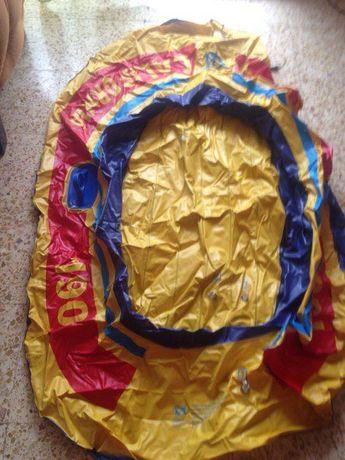 резиновая надувная лодка JUGOMAR в подарок НАСОС