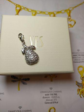 Yes charms zawieszka srebro wisiorek gruszka