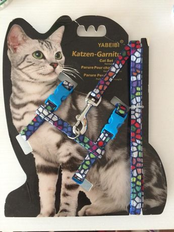 Шлейка для кота и собаки