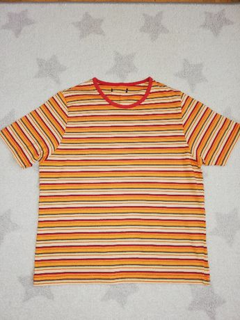 Bluzka bawełniana w paski, M, 38