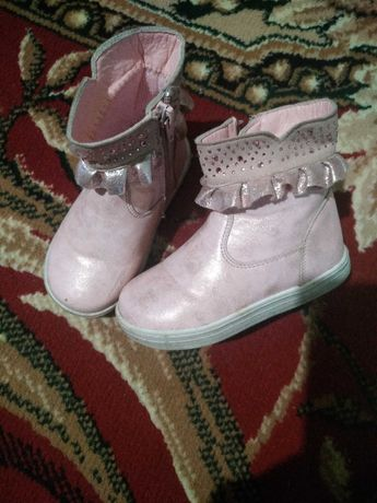 Сапожки осенние кроссовки на девочку