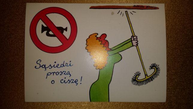 karta pocztowa śmieszna
