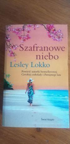 Szafranowe niebo Lesley Lokko