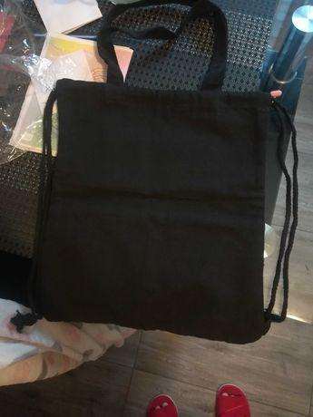 Torba na zakupy lub plecak worek