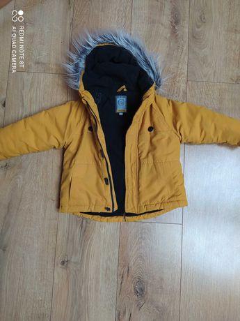 kurtka zimowa dla chłopca rozmiar 86