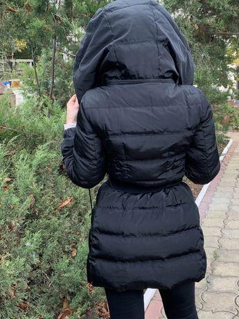 пуховое пальто  Moncler
