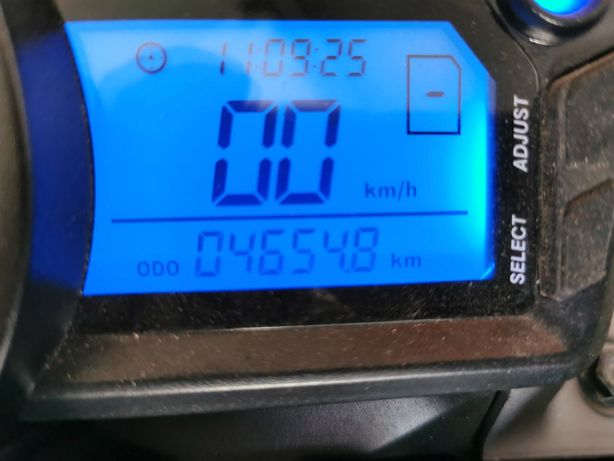 Keeway rkv 125 acidentada