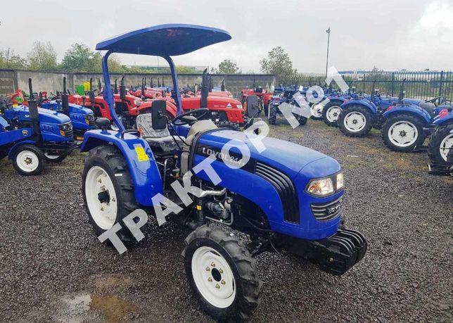 Новий мінітрактор LOVOL ТЕ 244 Реверс з дашком трактор фотон 4244Р