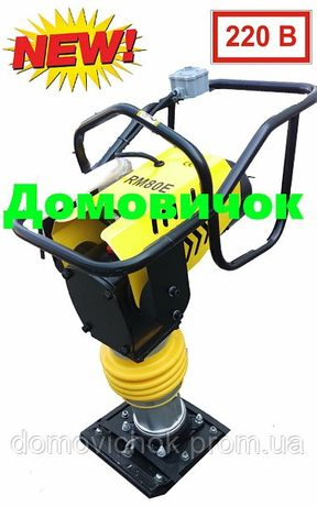Вибротрамбовка электрическая Honker HP-RM80E  Вибронога, вибролапа