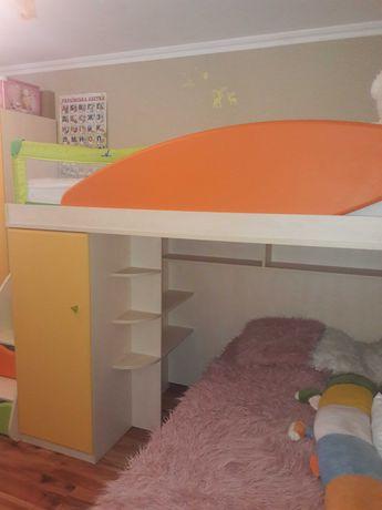 Детская мебель снайт snite двухъярусная кровать-чердак