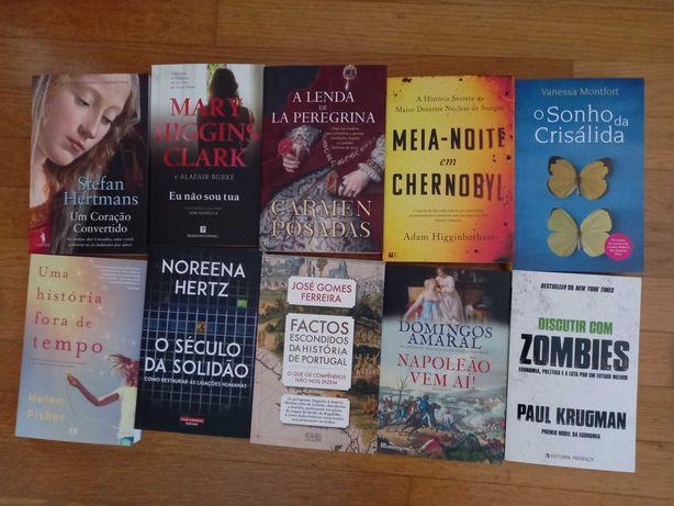Lote de 70 livros