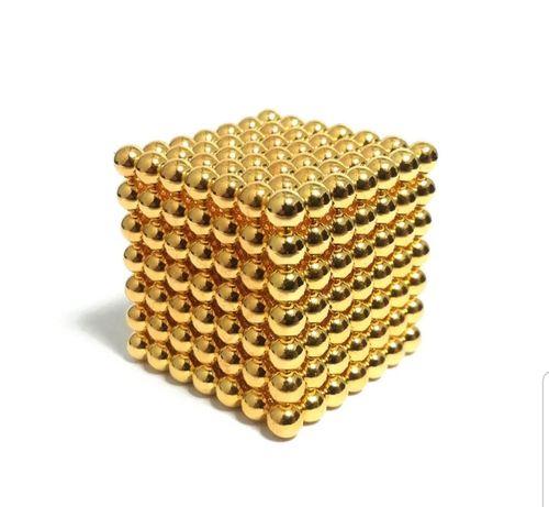 Головоломка неокуб конструктор в боксе Neocube-216 Магнитные шарики 5м