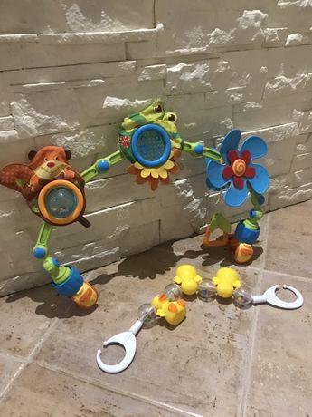 Tiny love zabawka edukacyjna muzyczny łuk z zabawkami do wozka