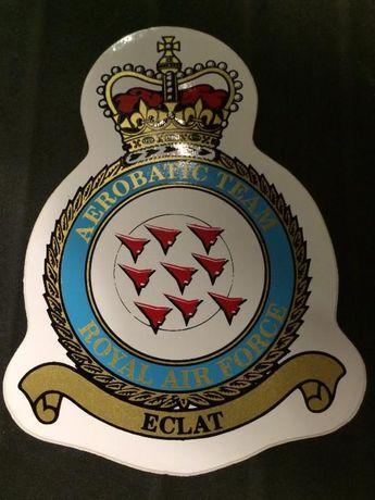Autocolante Royal Air Force RAF (Novo)