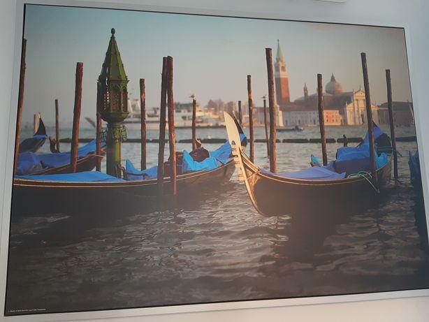 Obraz Wenecja 100x140 w aluminiowej ramie