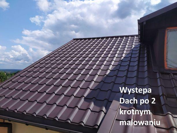 Malowanie Dachu, Mycie, Elewacji, Rynny, Obróbka, Uszczelnienie, Komin