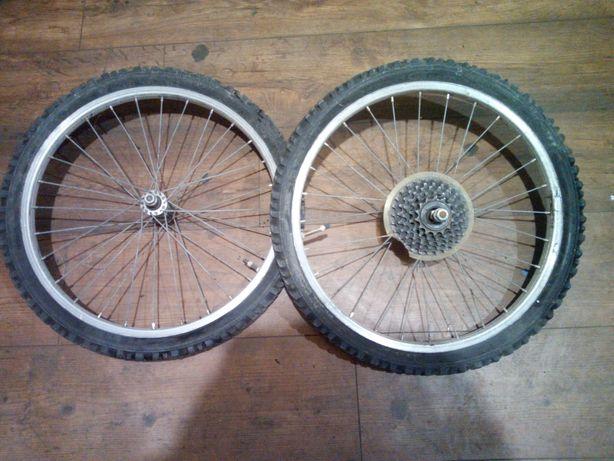 Koła małego roweru górskiego - rozmiar 20
