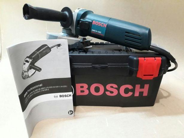 Болгарка BOSCH GWS 8-125C доставка наложка