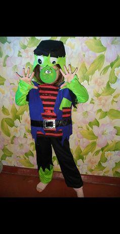 Костюм Франкинштейна на хеллоуин, зомби.