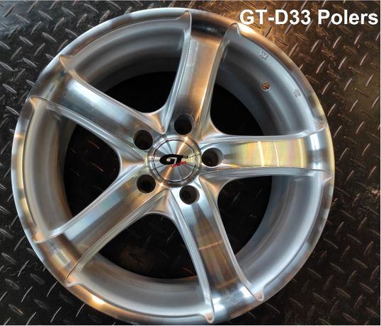 """Felgi aluminiowe GT racing 16"""", różne modele-nowe, wyprzedaż magazynow"""