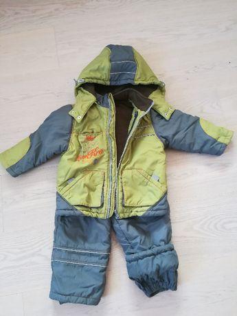 Комбінезон зимовий, куртка та штани зимові 86 см
