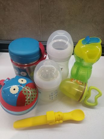 Skip Hop термос, детские бутылочки Avent