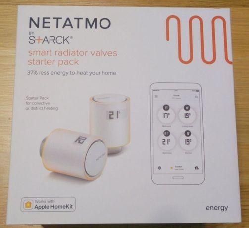 NETATMO Valves Set nieużywany zestaw głowic termostatycznych gwarancja