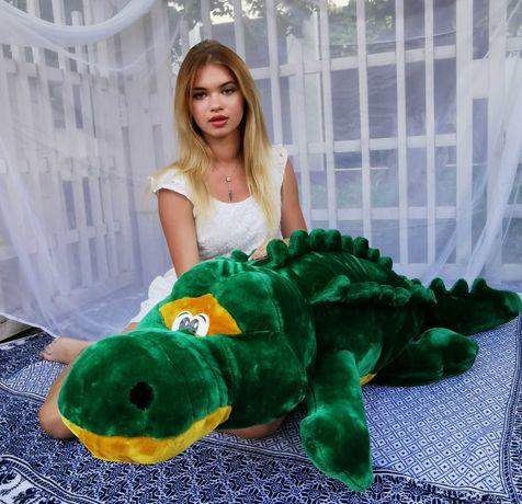 Детская мягкая игрушка Крокодил 85-250см.Бесплатная доставка!