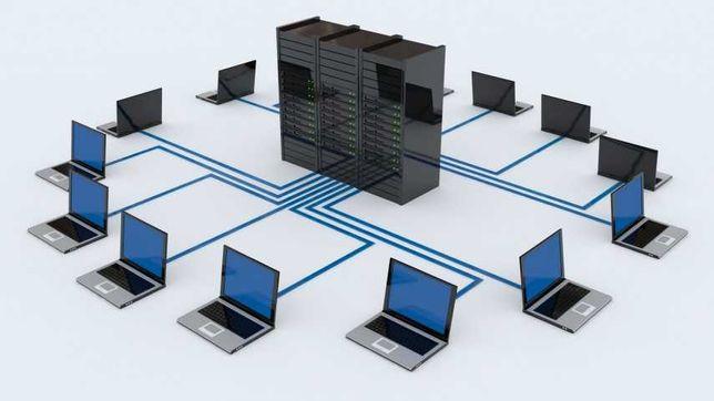 Budowa sieci wewnętrznych, spawanie światłowodów. Serwis laptopów.