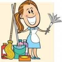 Faço limpeza em casas