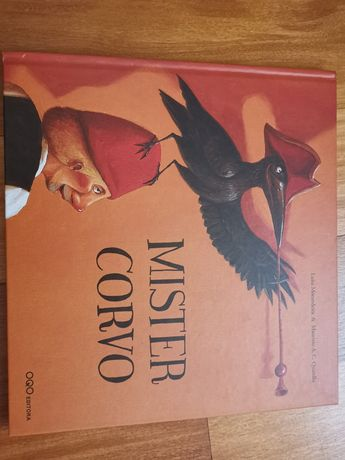 Livro Mister Corvo
