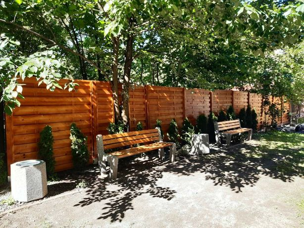 Panele drewniane lamelowe