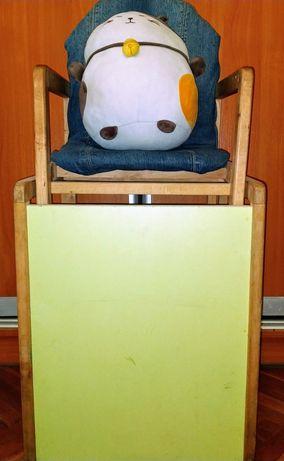 Детский столик+стульчик трансформер