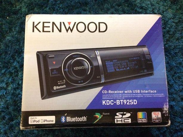 Rádio completo Kenwood KDC BT-92SD