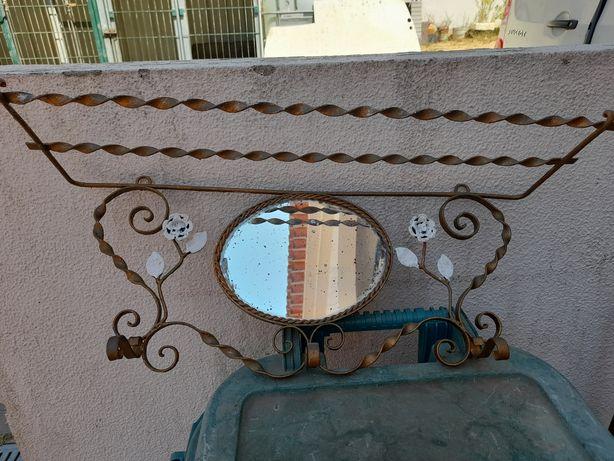 Mesa,bengaleiro, chapeleiro  em ferro