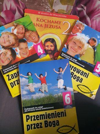 Podręczniki do Religi kl 2, 4, 5 i 6